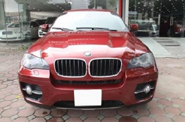BMW X6 Màu đỏ nội thất kem đăng ký chính chủ