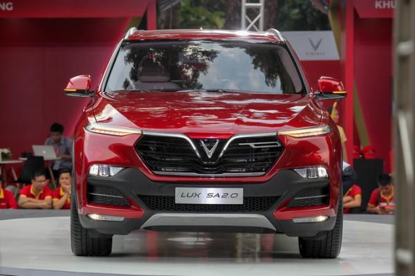 Vinfast Lux Sa2.0 thuần chất SUV Thương hiệu Việt