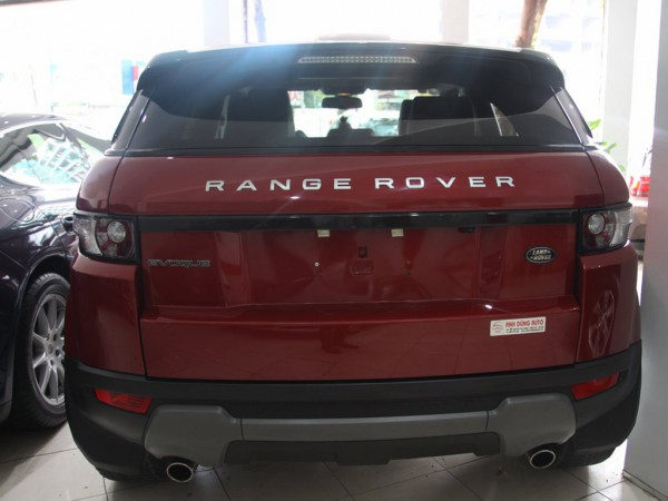 Land Rover Range Rover Evoque,màu đỏ,sx 2011,nhập khẩu,CC