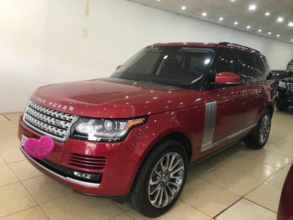 Land Rover Range Rover Bán Range Rover HSE 3.0 màu đỏ 2015