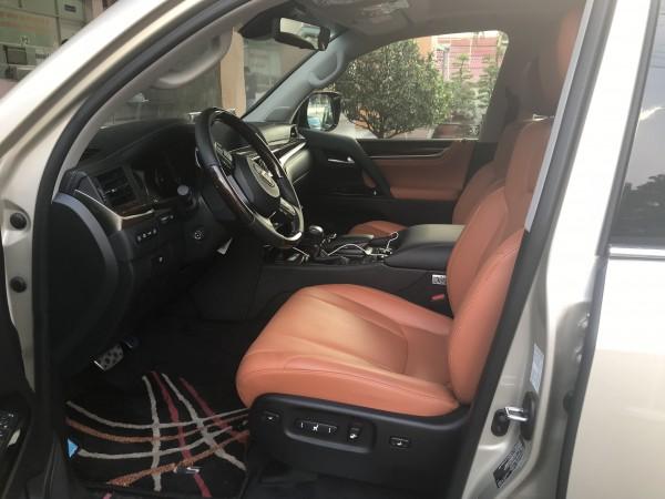 Lexus LX 570 Bán  Lexus LX570 Super Sport màu vàng 18