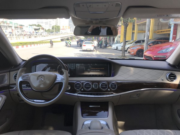 Mercedes-Benz S 500 2013 đen