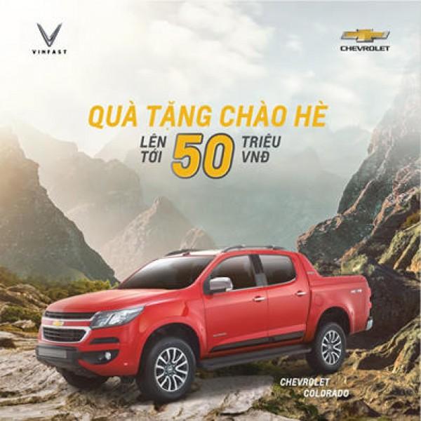 Chevrolet Colorado Sở hữu bán tải Mỹ nhận ưu đãi 50 triệu